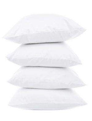 White Pillows Isolated on White Background
